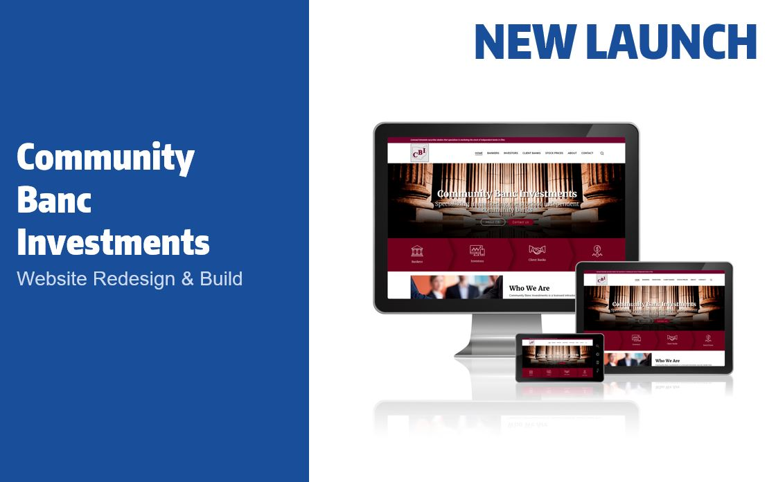 Community Banc Investments website design