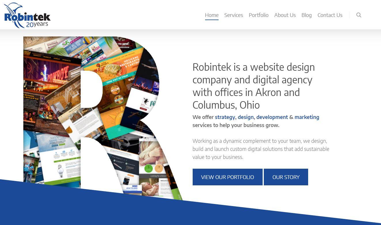 Robintek Wordpress Website