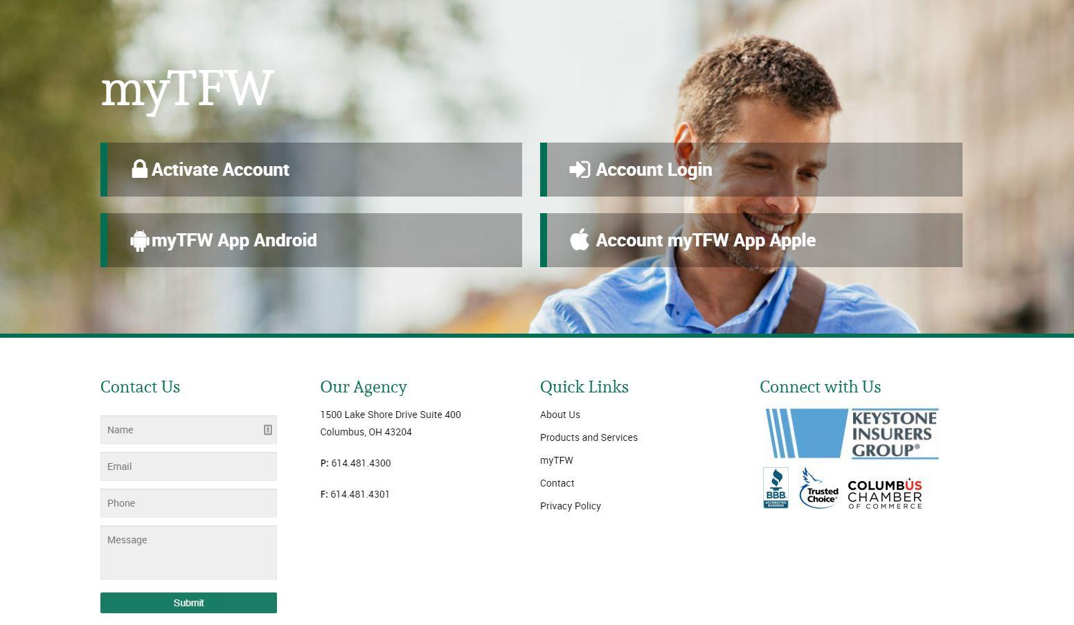 TFW website image