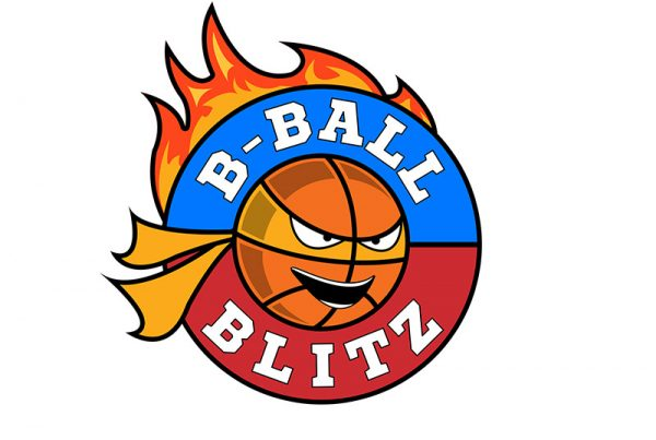 B-Ball Blitz Logo Design