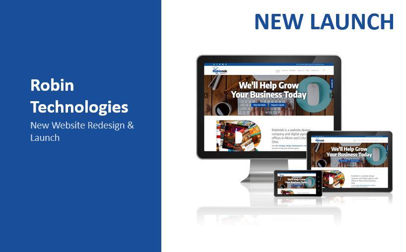 Robintek new website