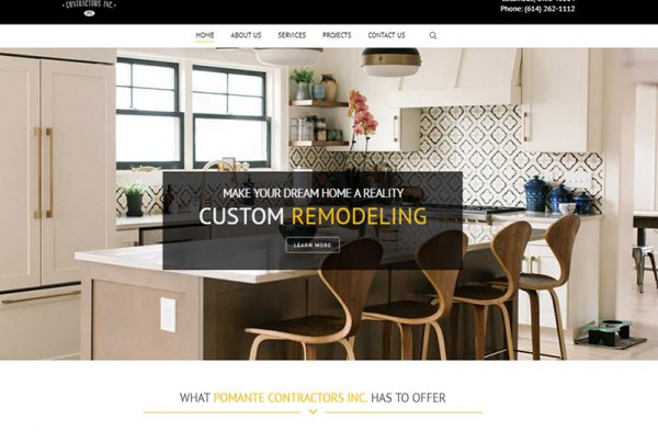 pomante contractors inc custom remodeling