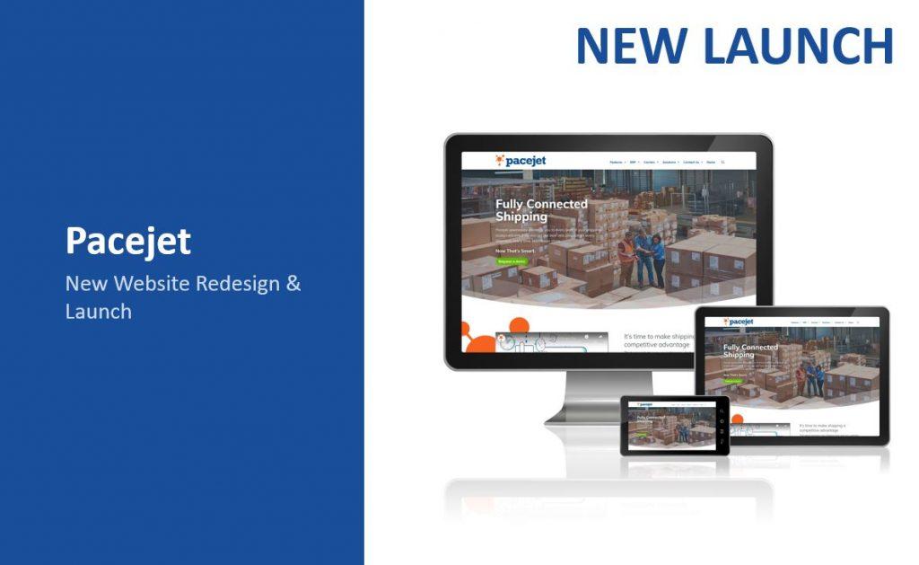 new website launch image of computer