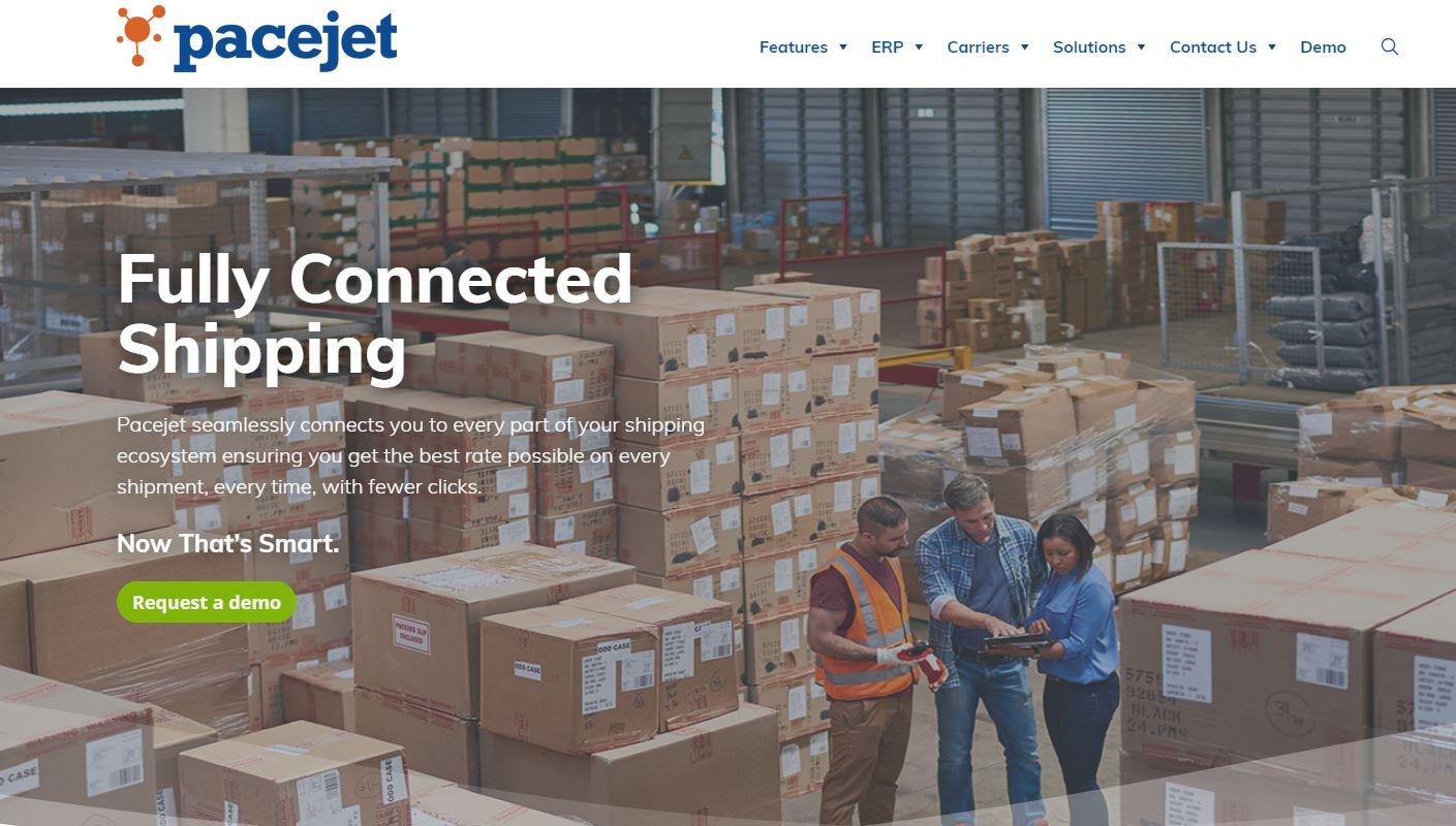 Pacejet website image