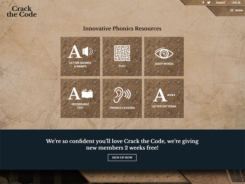 crack the code phonics resource