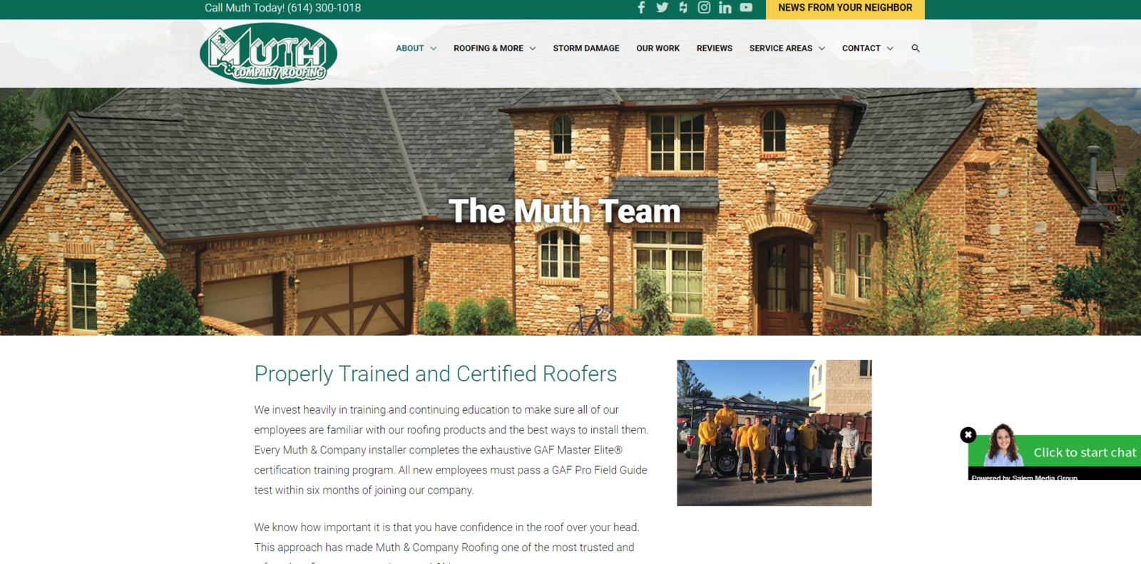 wordpress design and build muth & company our team