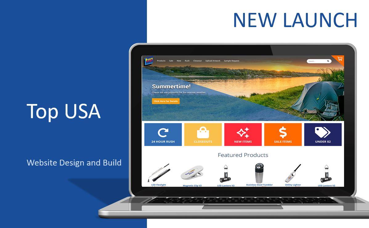 wordpress, Top USA, .net, build, design