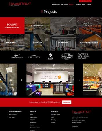 BusSTRUT Website Design