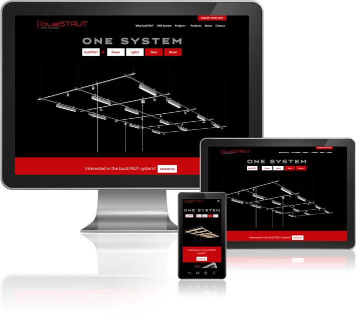 BusSTRUT Mobile Website Design
