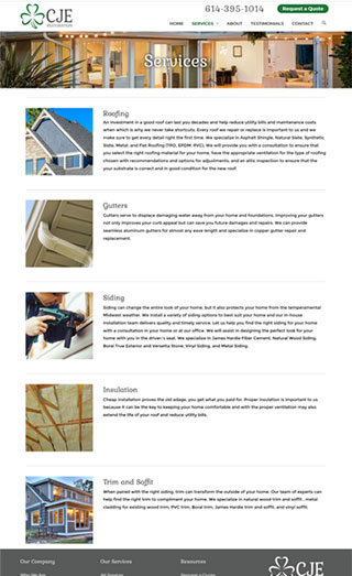 CJE Website Services
