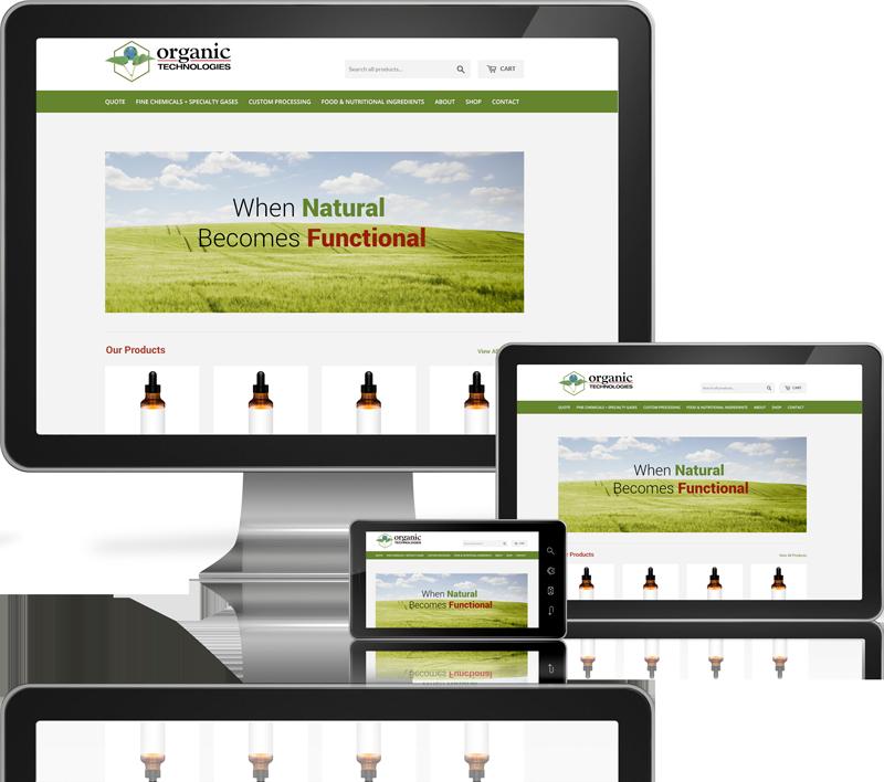 Organic Tech Website