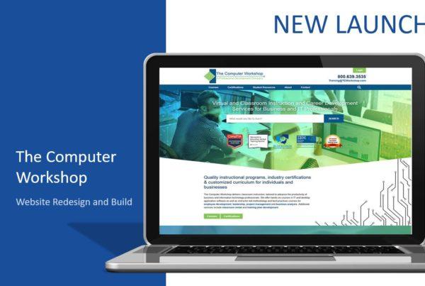 Custom content management, the computer workshop, laptop, technology