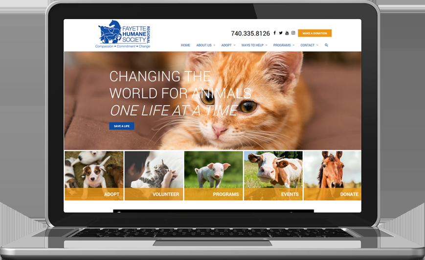Fayette Humane Society Website