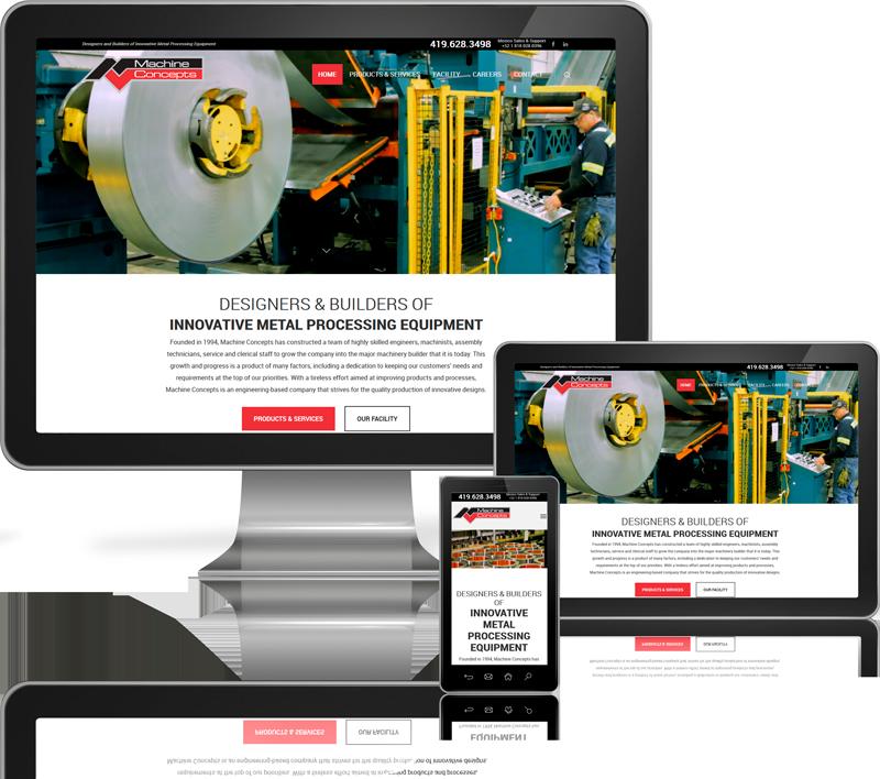 Machine Concepts Website