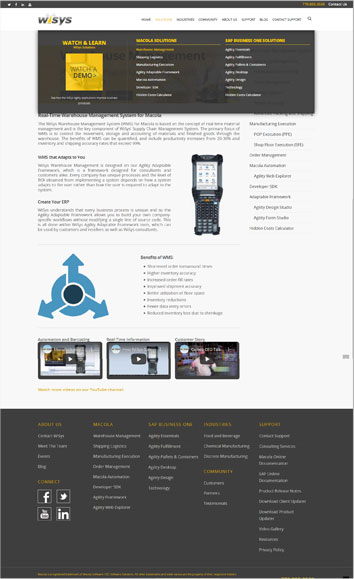 WiSys Website