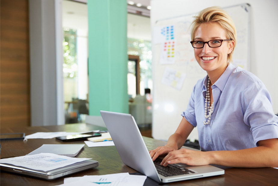 Custom Financial Website Design