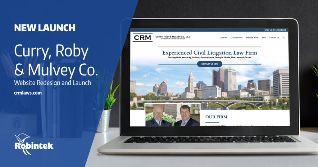 CRM New Website Redesign Launch