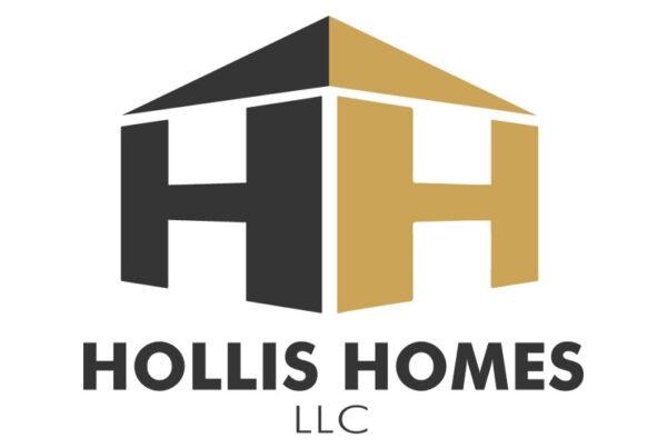 Hollis Homes Columbus Home Remodel Logo Design