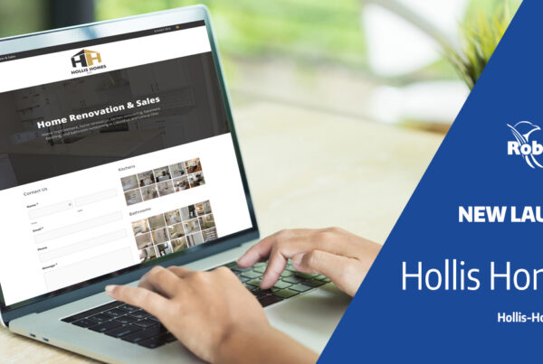 Hollis Homes new website launch