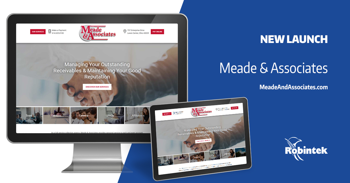 Meade and Associates new website launch