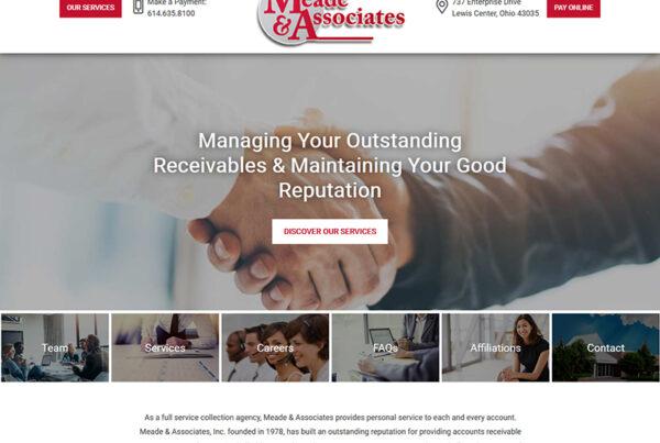 Columbus Meade & Associates New WordPress Web Design