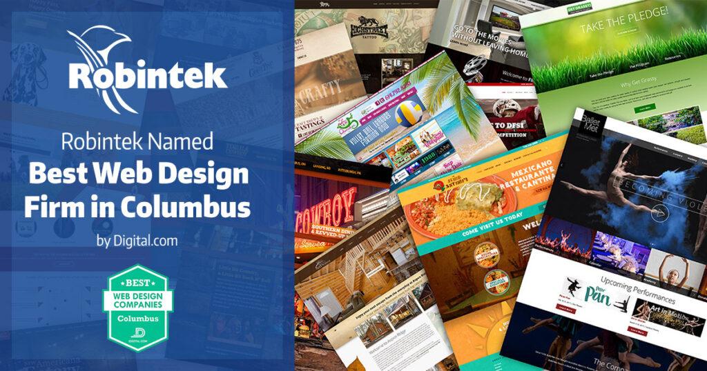 Robintek Named Best Web Design Firm in Columbus Ohio