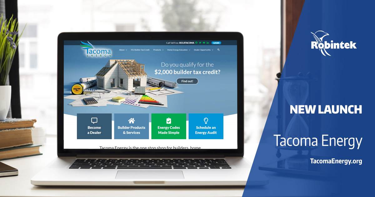 Tacoma Energy new website launch