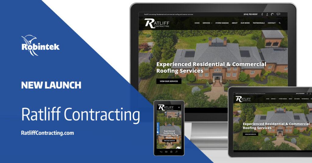 Ratliff Contracting New Website Launch