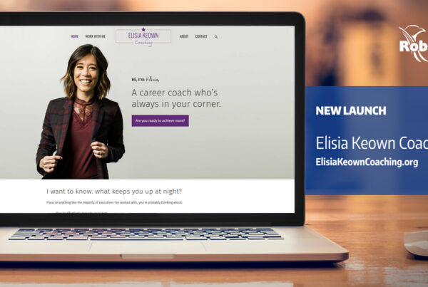 Elisia Keown Coaching New Website Design Launch