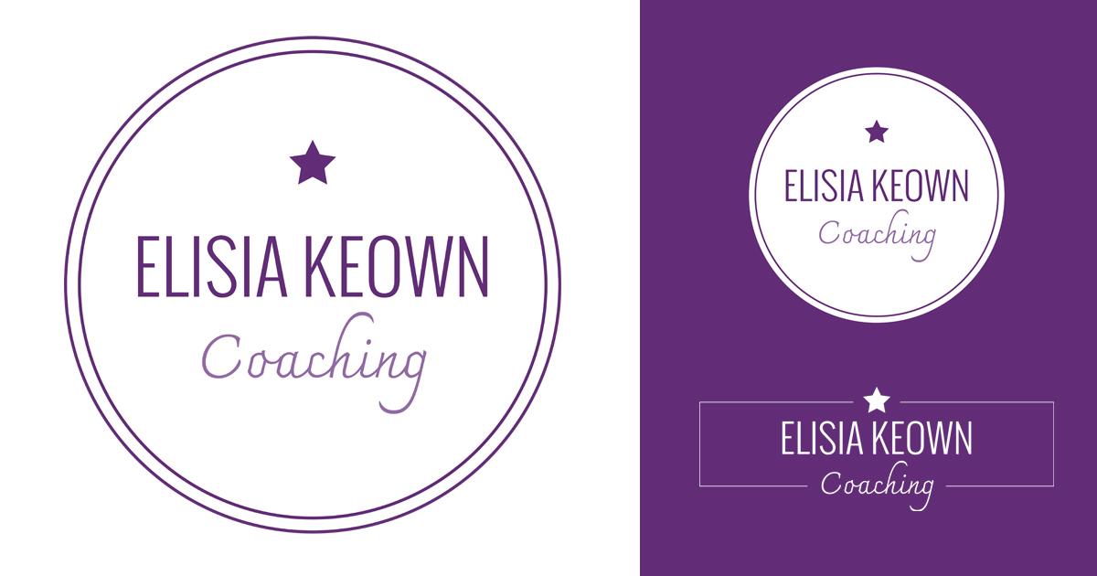 Logo design for Elisia Keown