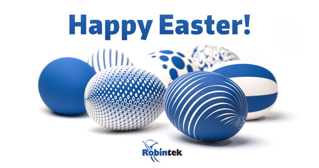 Happy Easter 2021 from Robintek