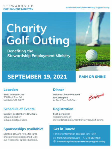 SEM Charity Golf Outing Flyer 2021