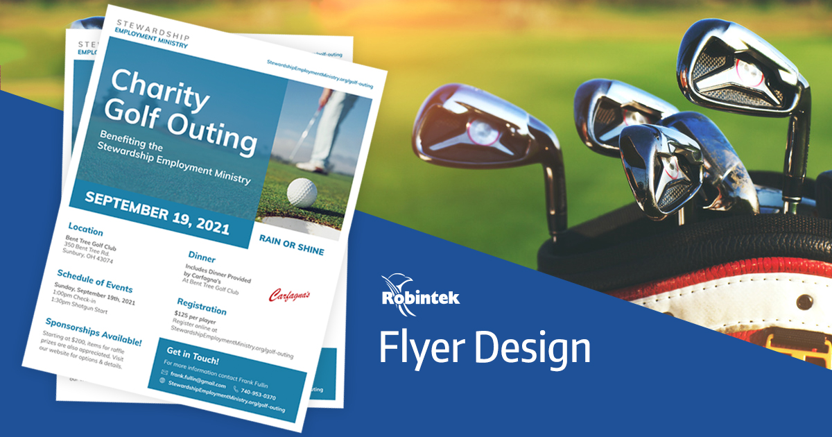 Golf Outing flyer design for SEM by Robintek