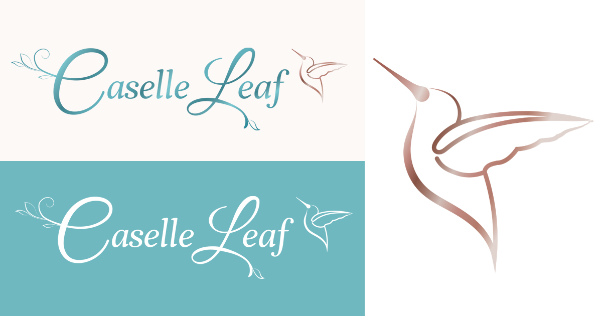 Caselle Leaf logo and branding design by Robintek