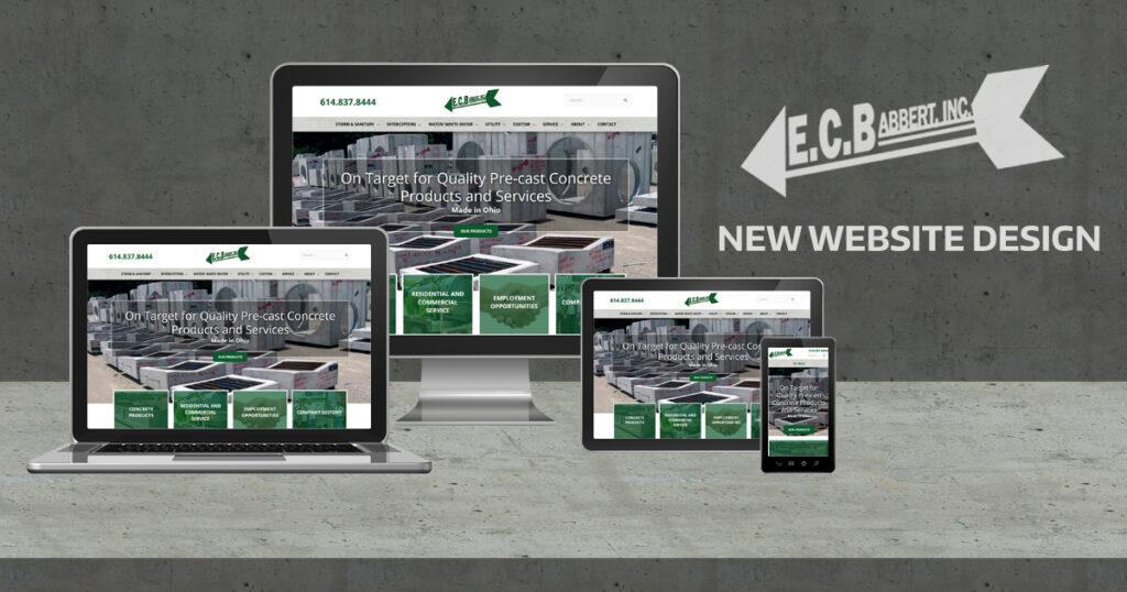 New Website Design for E.C. Babbert Inc