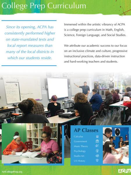 ACPA curriculum flyer design