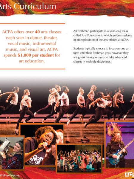 ACPA Arts Curriculum Flyer