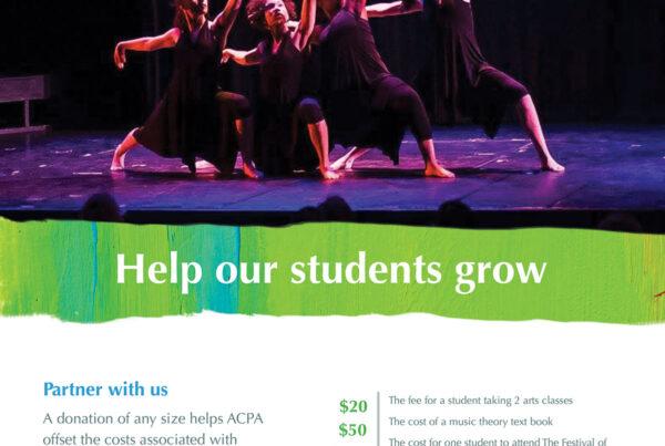 ACPA Giving Flyer Design