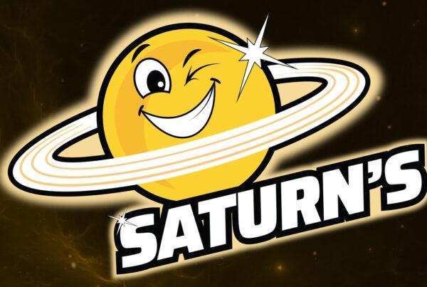 Saturns Sports Bar Logo Design by Robintek