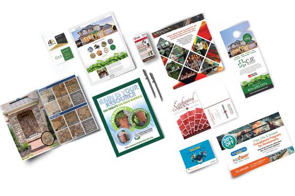 Columbus Print Design Marketing Materials