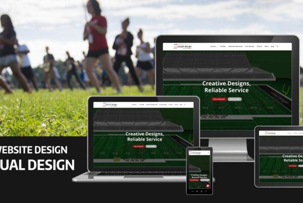 JJ Visual Design Website Design by Robintek on multiple devices