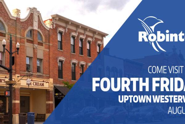 Uptown Westerville Robintek Columbus Web Design 4th Friday